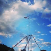 aerial sway pole stunt