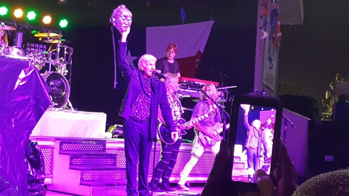 Outdoor concert with Dennis DeYoung & the Music of Styx