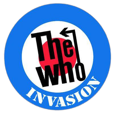 The Who Invasion logo