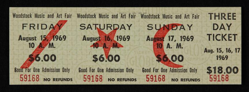 booking Woodstock tribute acts