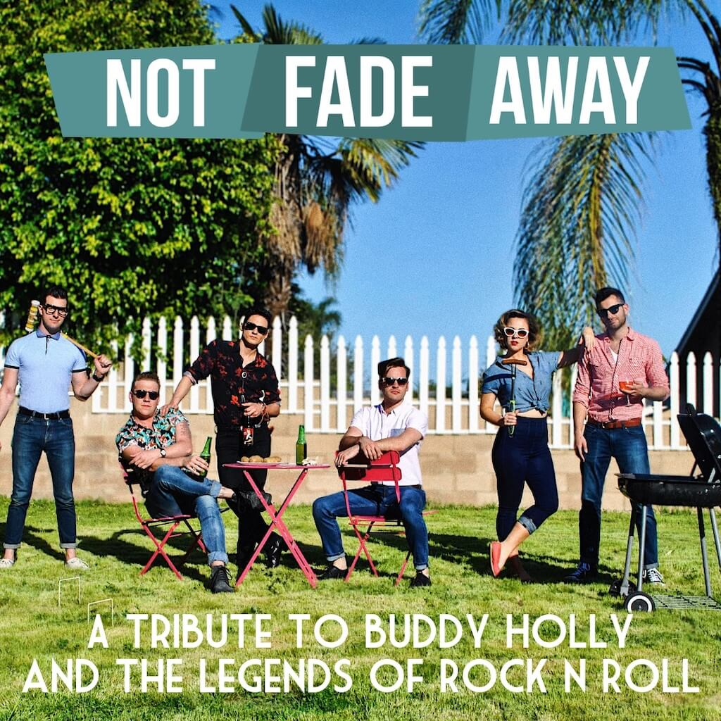 Not fade away band