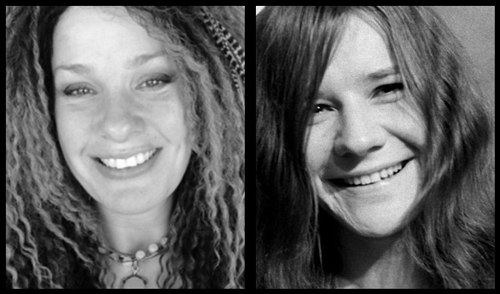 Jennifer B & Janis Joplin comparison