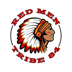 Red Men Tribe 84