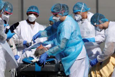 frontliners helping coronavirus patients