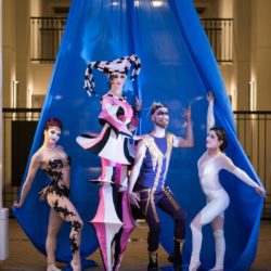 Group Photo Cirque Theme-Lien DeLong Photography