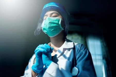 doctor fighting for coronavirus