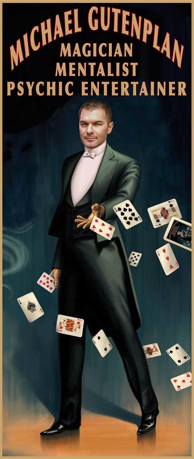 michael gutenplan magician mentalist