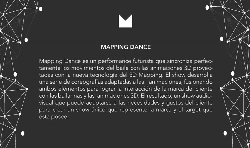 mapping dance