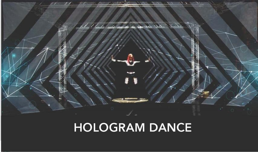 hologram dance