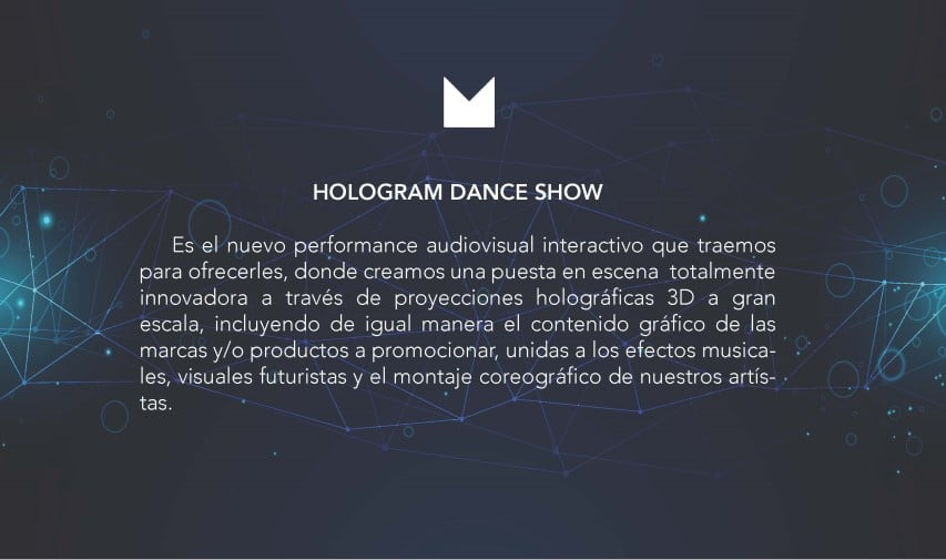 hologram dance show