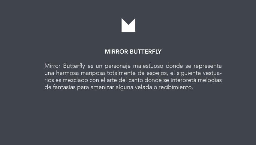 mirror butterfly