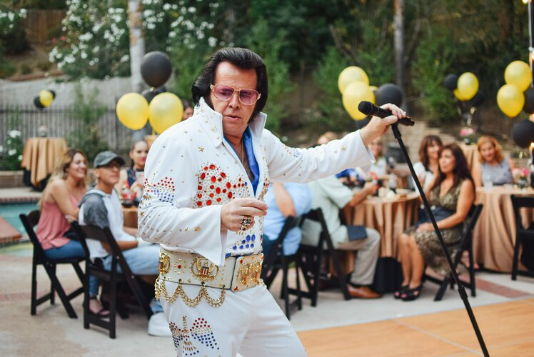 Elvis Presley impersonator